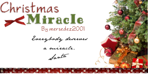 Christmas Miracle by mersedez2001