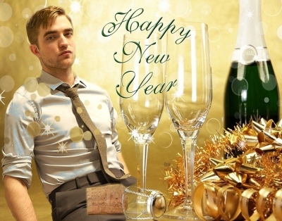 Robert Pattinson New Years 2013