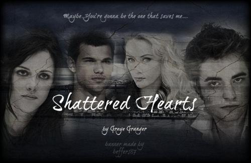 Shattered Hearts by Greye Granger