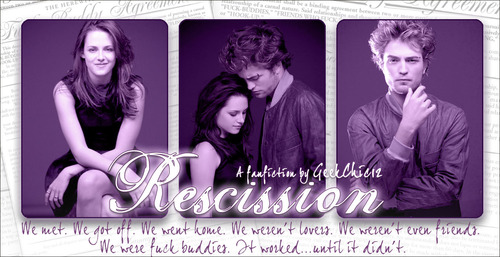 Recission by GeekChic12 banner