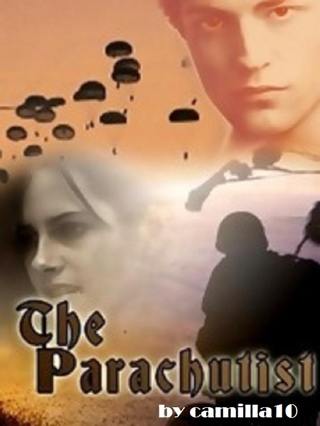 Banner parachutist